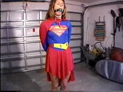 supergirl tied up naked