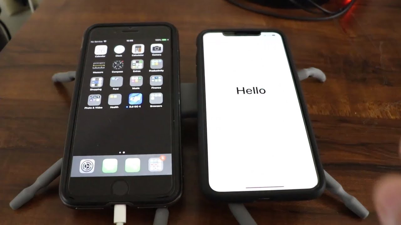 transfer music from old iphone to new iphone