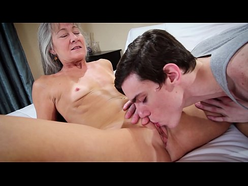 son and grand mother porn